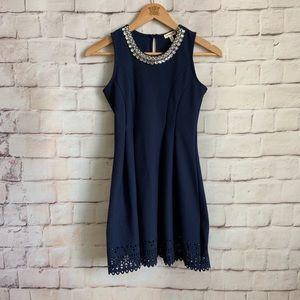 Monteau Girl Dress, Sleeveless, Jeweled,, Girls 10